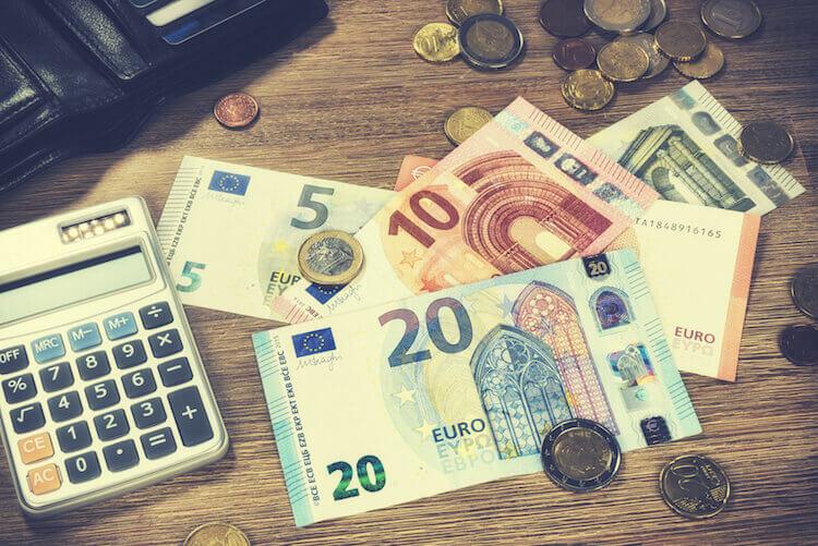 Rechner Geldscheine Euro Berechnung