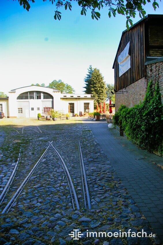 Berlin Heiligensee Altes Straba Depot