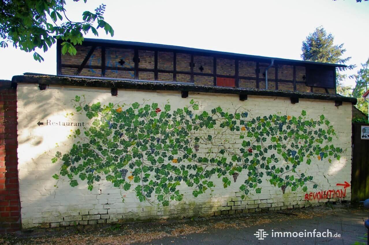 Heiligensee Mauermalerei Ranken