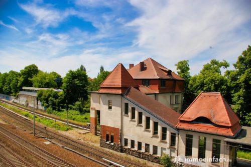 Bahnhof Gebäude Heinersdorf Berlin