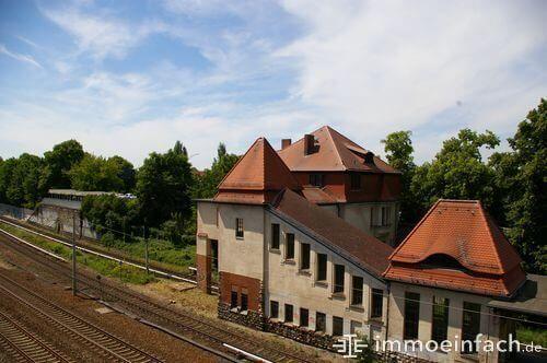berlin heinersdorf s-bahnhof schienen stromleitung