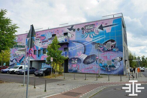 berlin hellersdorf grafitti kunst