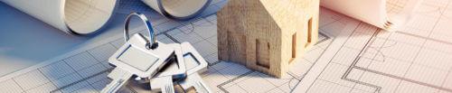 Hauskauf Schlüssel Haus Zeichnung