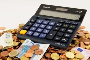 Förderprogramme Taschenrechner Geld