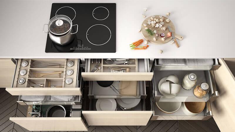 Küche Einrichtung Immobilie Wohnen