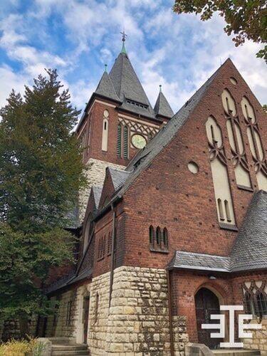 oberschönweide kirche kreuz christuskirche