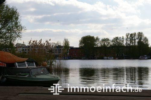 Spree Ufer Wasser Boote Rummelsburg Berlin