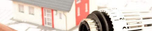Modellbau eines Hauses und ein Heizungsregulator