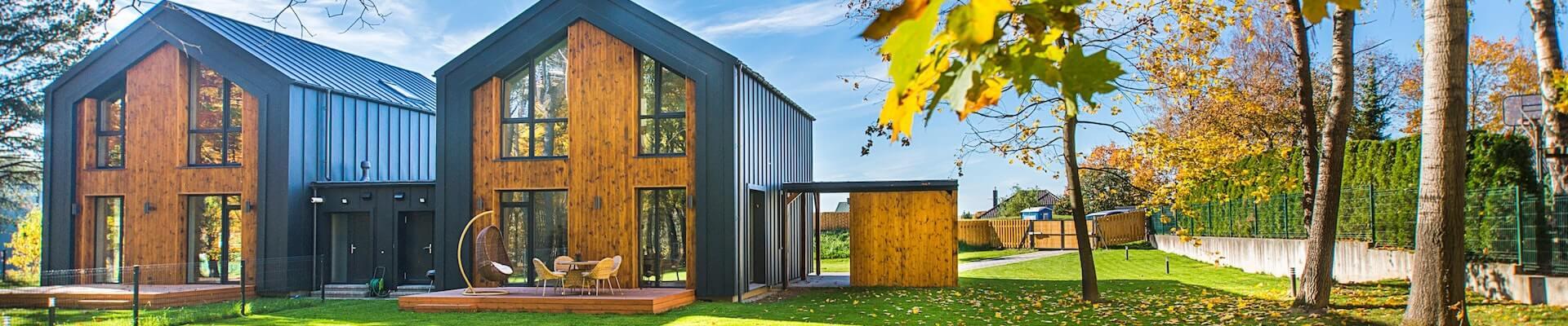 Ein Mehrfamilienhaus mitten im Grünen