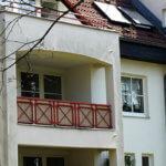 Hausfassade in Reinickendorf in Berlin