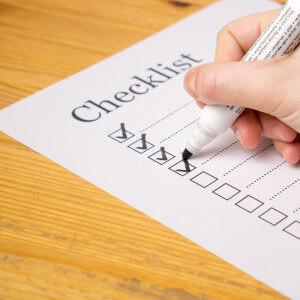 checkliste aufgaben stift