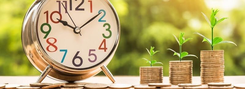 Geld Finanzen Zeit Alter