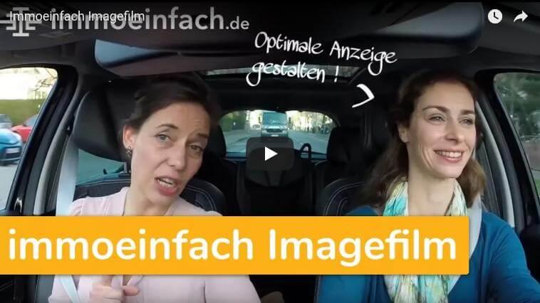immoeinfach imagefilm frauen auto