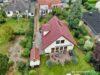 Einfamilienhaus in zweiter Reihe - Hell und ruhig - Drohne Westansicht