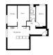 Top-sanierte 2 Zimmer-Eigentumswohnung in Berlin-Wedding - Grundriss