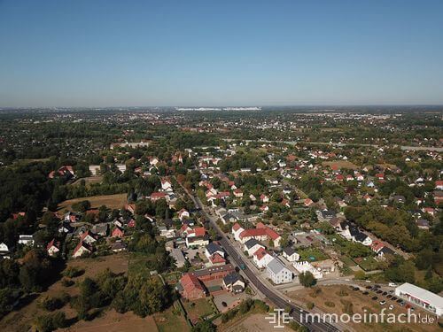 karow vogelperspektive stadt berlin immobilien