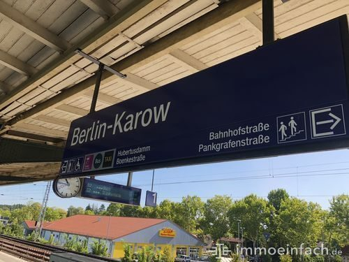 s bahnhof berlin karow schild netto