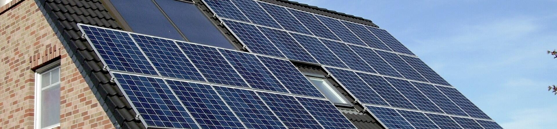 Solarpanel Energiesparen Strom